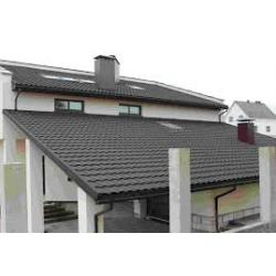 Крыша из металлочерепицы и её преимущества
