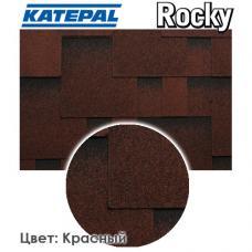 Битумная черепица KATEPAL ROCKY Красный гранит