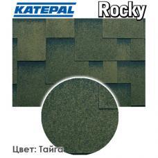 Битумная черепица KATEPAL ROCKY Тайга