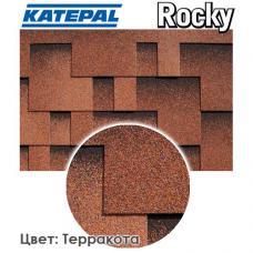 Битумная черепица KATEPAL ROCKY Терракота