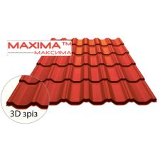 Металлочерепица MAXIMA350/20 0,5мм SSAB (Финляндия)