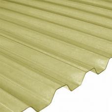 ПВХ листы Salux, бронзовая трапеция 0,8 мм