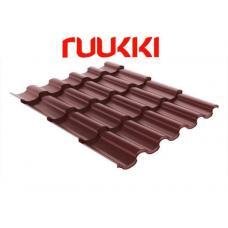 Металлочерепица RUUKKI, Adamante 0,52 Purex