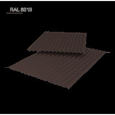 Металлошифер, МАТ РЕ 0,5 мм